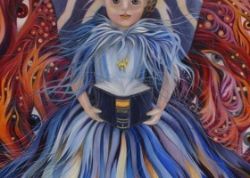 1503_Christina_Kruesi_Art_Doll_Angle_2011_Oil_on_Canvas_180x140cm