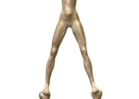 1131_Christina_Kruesi_Art_Balanced_2007_45x31x8cm_Bronze