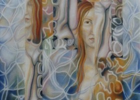 0555_Christina_Kruesi_Art_Water_Eyes_2001_Oil_on_Canvas_100x120cm