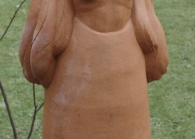 0301_Christina_Kruesi_Art_Angel_1997_Clay_153x53x40cm