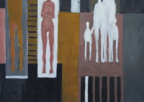 0320_Christina_Kruesi_Art_Family_1996_Oil_on_Canvas_45x45cm