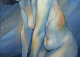 0324_Christina_Kruesi_Art_Self_1996_Oil_on_Board_30x40cm