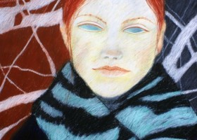 0247_Christina_Kruesi_Art_Frozen_1995_Oil_Pastels_80x100