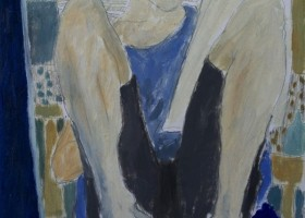 0252_Christina_Kruesi_Art_Self_Portrait_1995_Oil_on_Paper_30x40cm