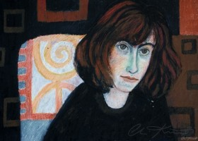 0142_Christina_Kruesi_Art_Mourning_2_1993_Oil_Pastels45x30cm