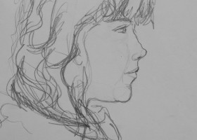 0015_Christina_Kruesi_Art_Heidi_1986_Pencil_28x36cm