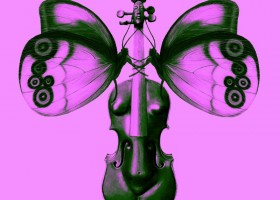 THE-VIOLINE-LEARNED-TO-FLY-PINK--2018-Multimedia--No-01912--CHRISTINA-KRUESI