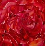 THIS IS RED AND IT IS FOR IRIS – Edition 80 x 80cm – 1'200 CHF